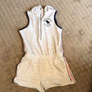 Abercrombie Romper with hood